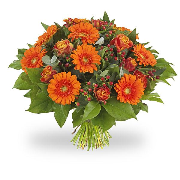 Boeket Oranje Groot (afbeelding)