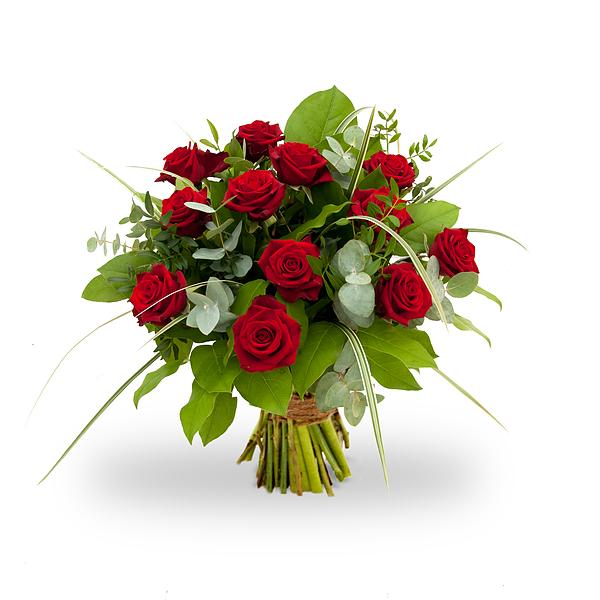 Boeket Rosa Red standaard