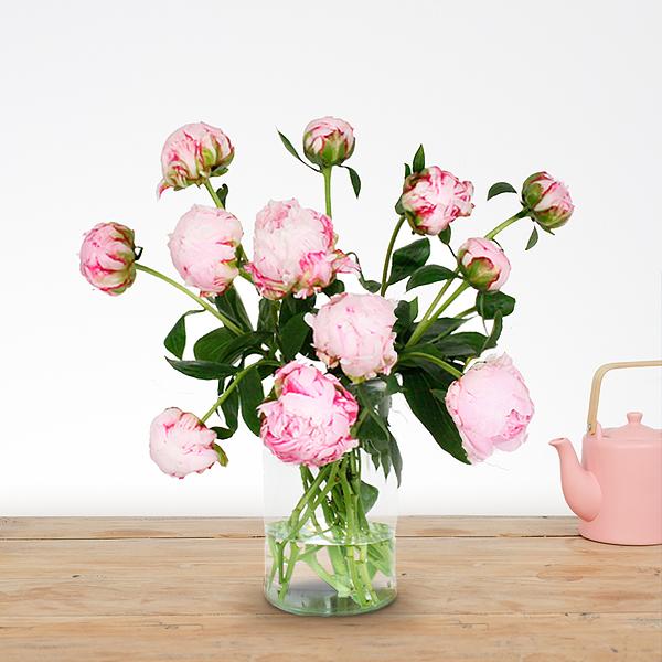 Boeket Donna roze klein