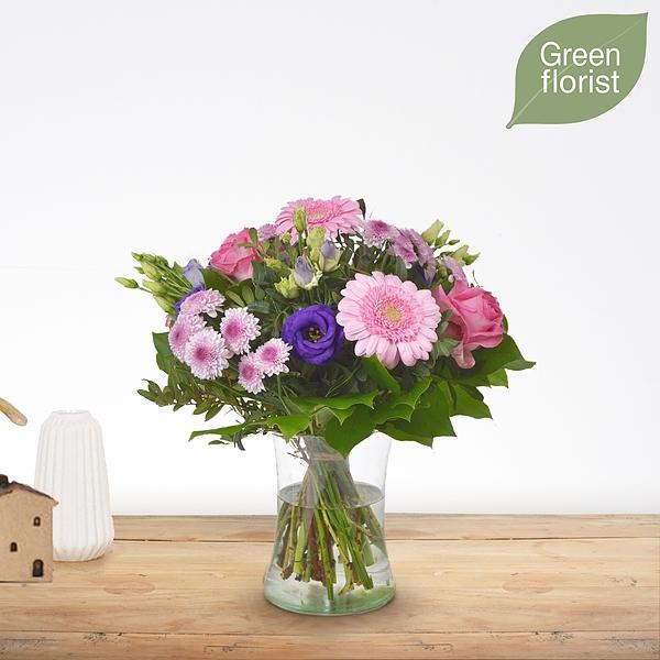 Green florist boeket Loes klein