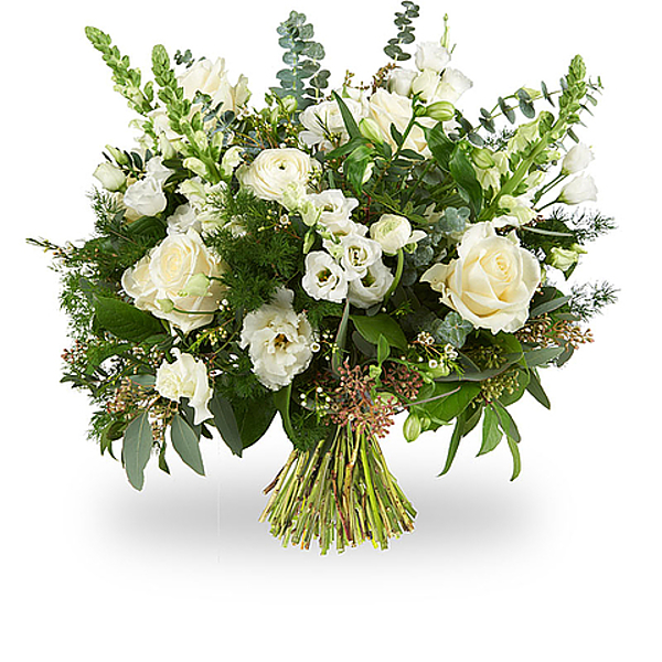 White modern bouquet large
