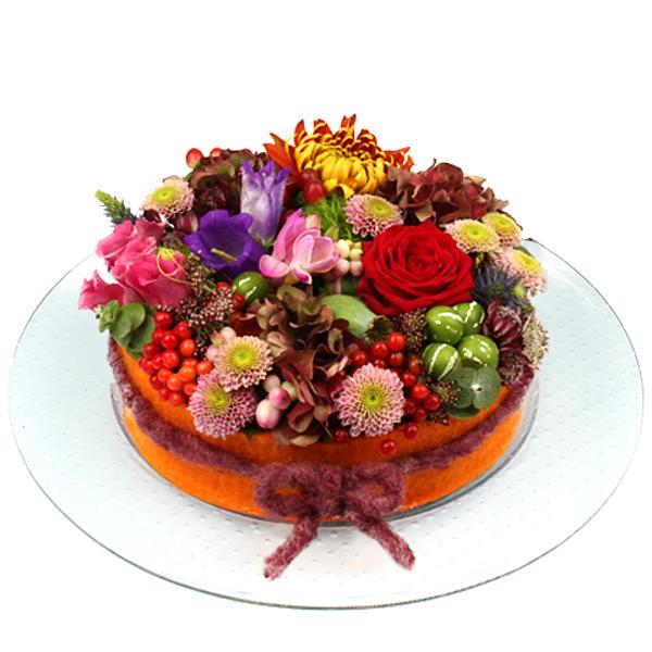 Flower cake Marjo