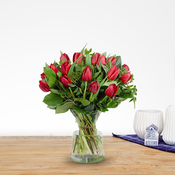 Bouquet Thara red medium