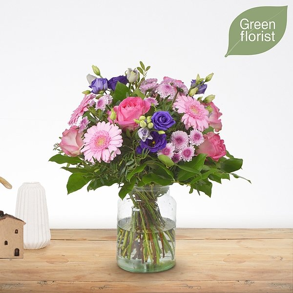 Green florist boeket Loes groot