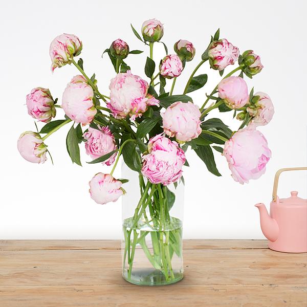 Boeket Donna roze groot