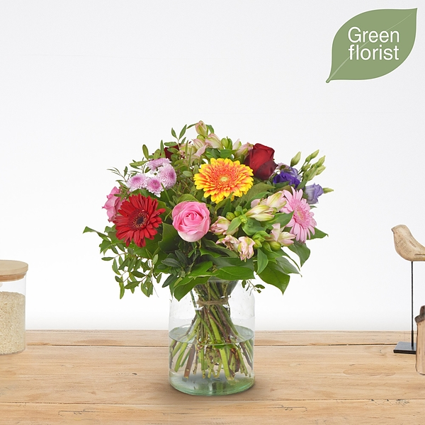Green florist boeket Abby klein