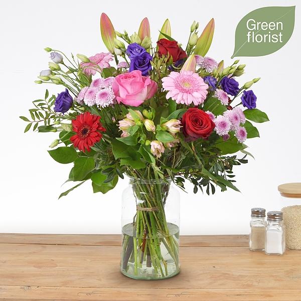 Green florist boeket Maaike groot