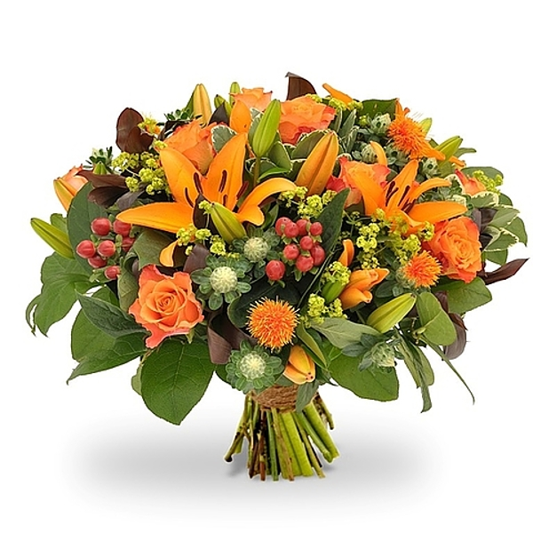 Orange bouquet standard