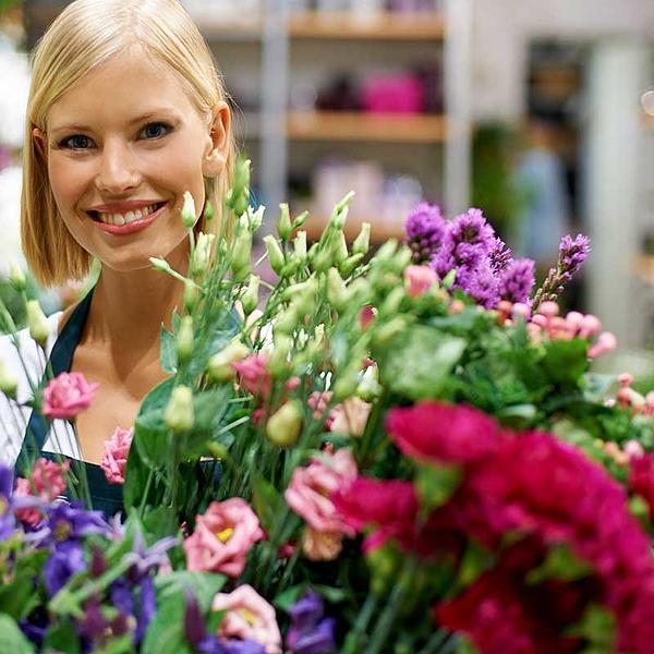 Bloemen: keuze bloemist