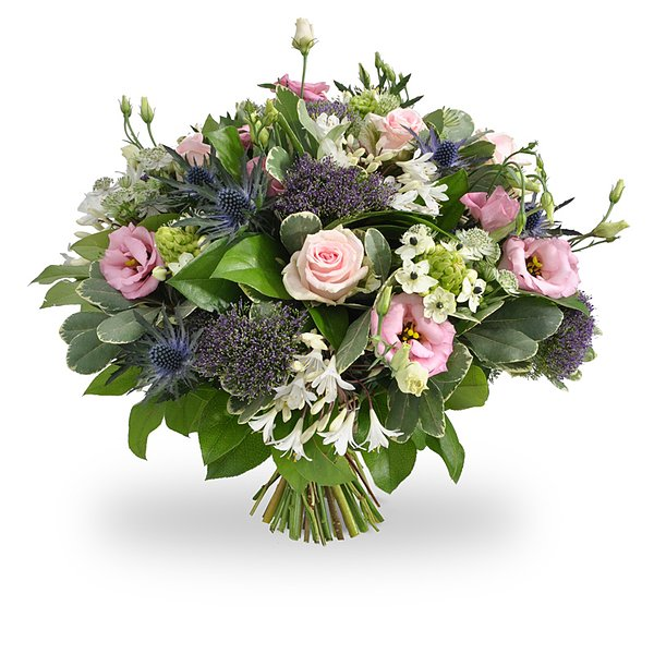 Pink-purple-white bouquet large