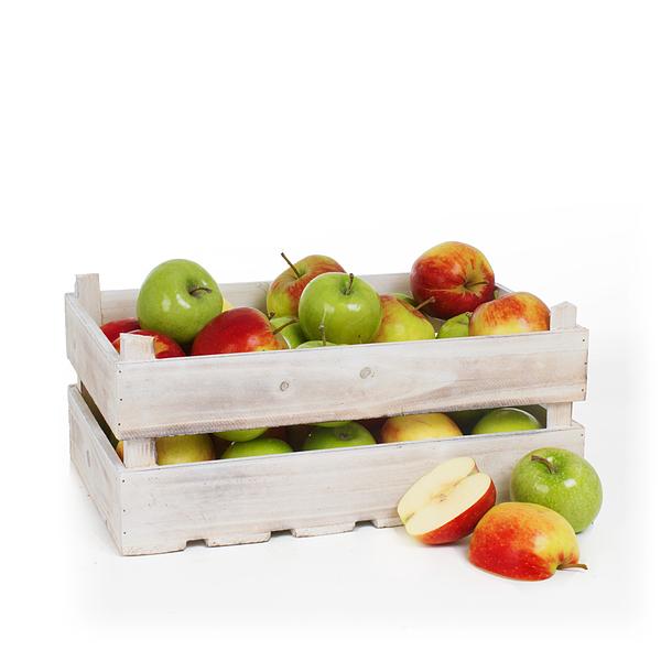 Fruit box apples