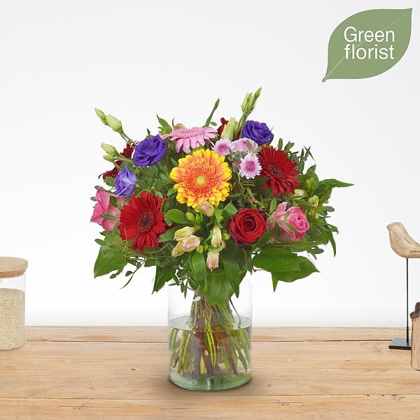 Green florist boeket Abby middel