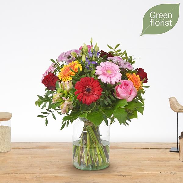 Green florist boeket Abby groot