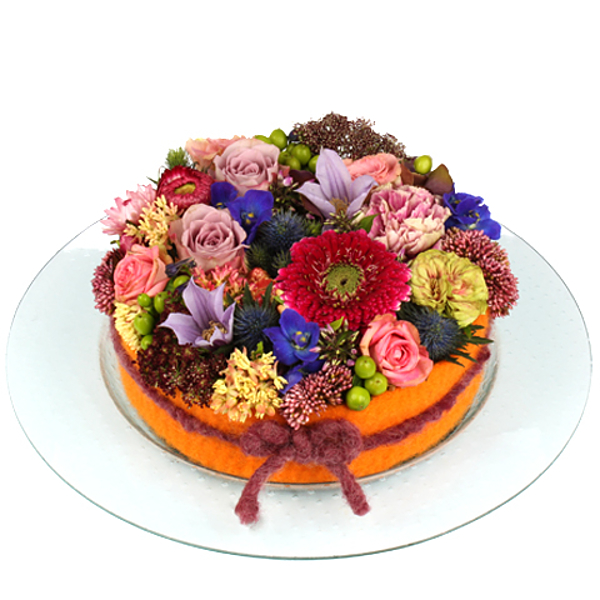 Flower cake Marcella