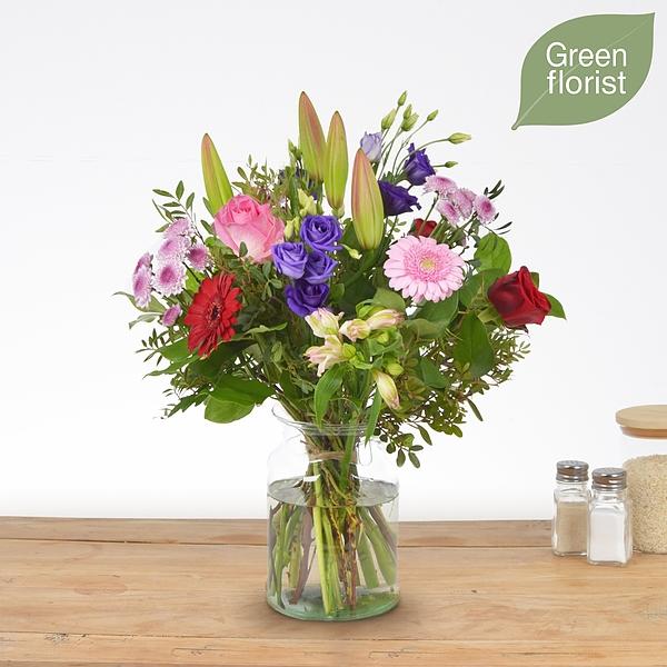 Green florist boeket Maaike klein