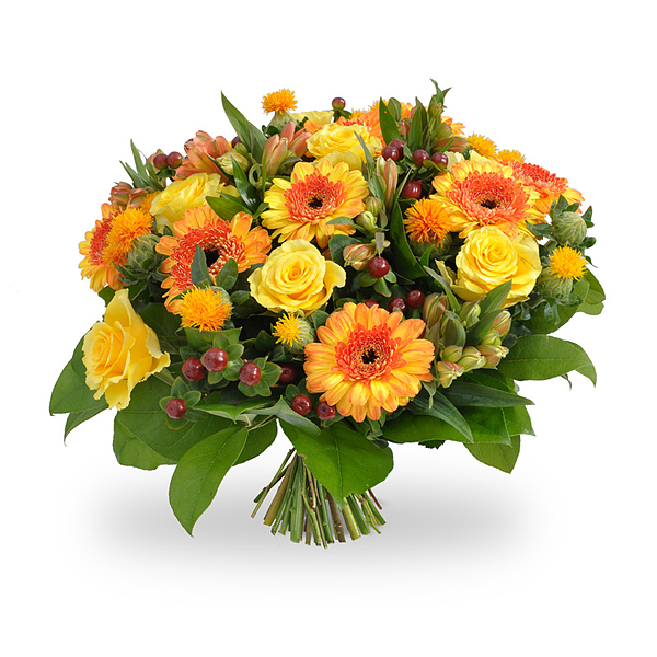 Orange/yellow bouquet large