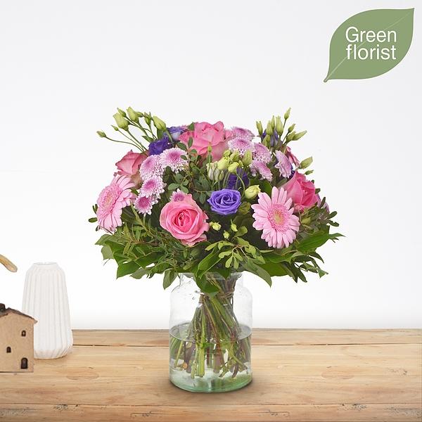 Green florist boeket Loes middel