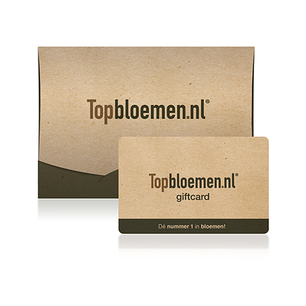 Topbloemen.nl giftcard