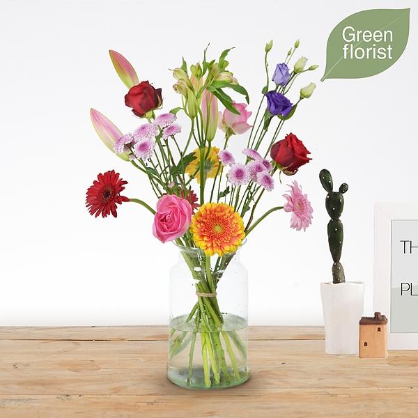 Green florist boeket Danique klein