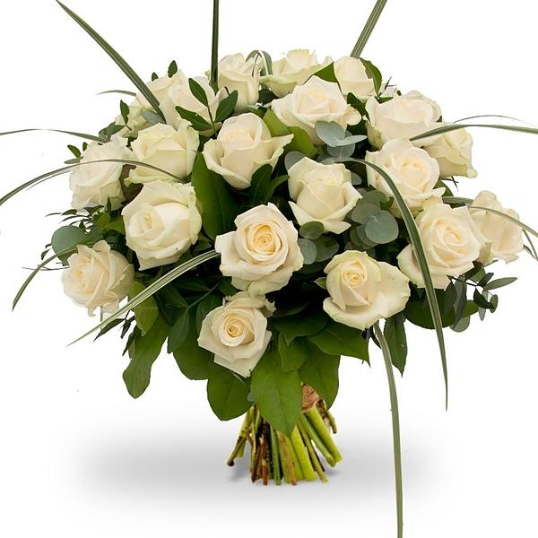 Bouquet Rosa White XL