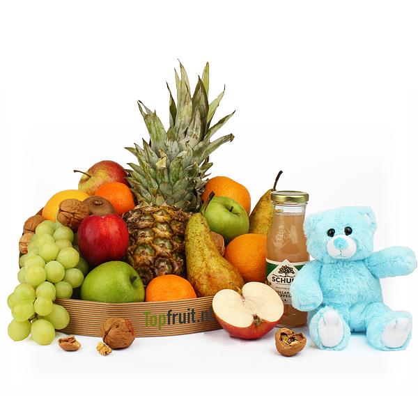 Fruitmand jongen