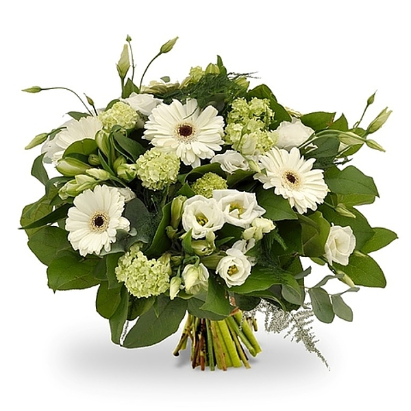 White bouquet standard