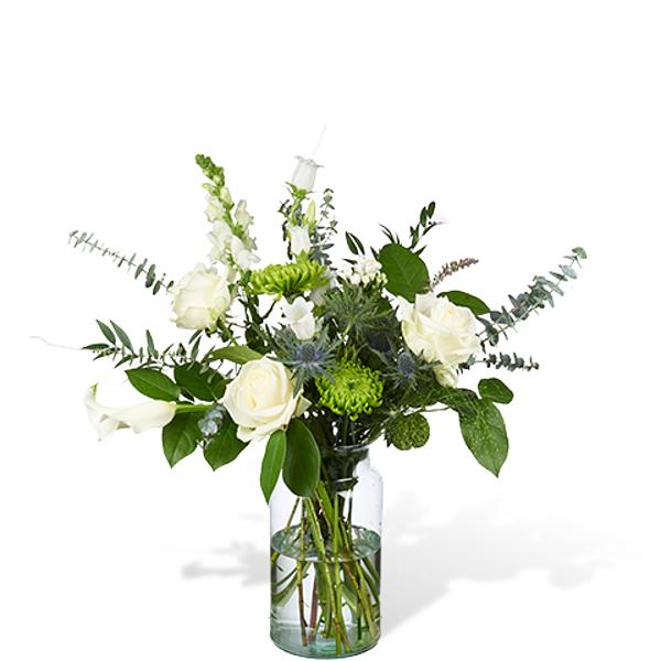 Bouquet Mia large with vase