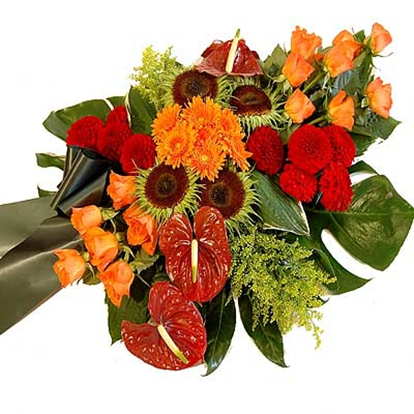 Red-orange arrangement standard