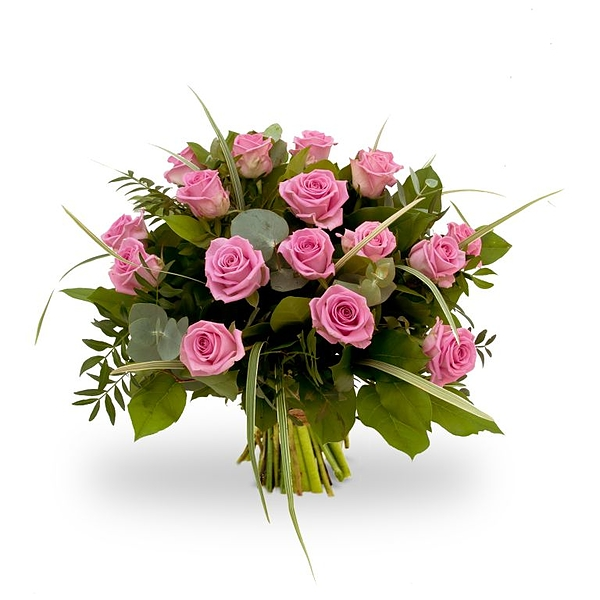 Bouquet pink roses large