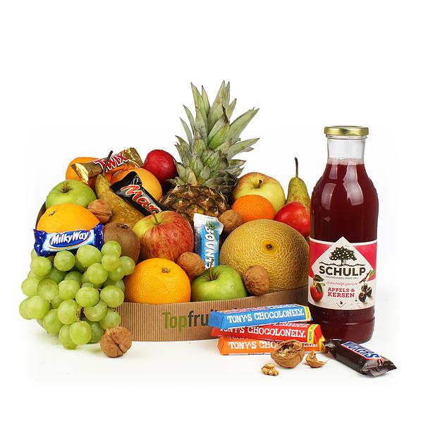 Fruitmand groot snoep
